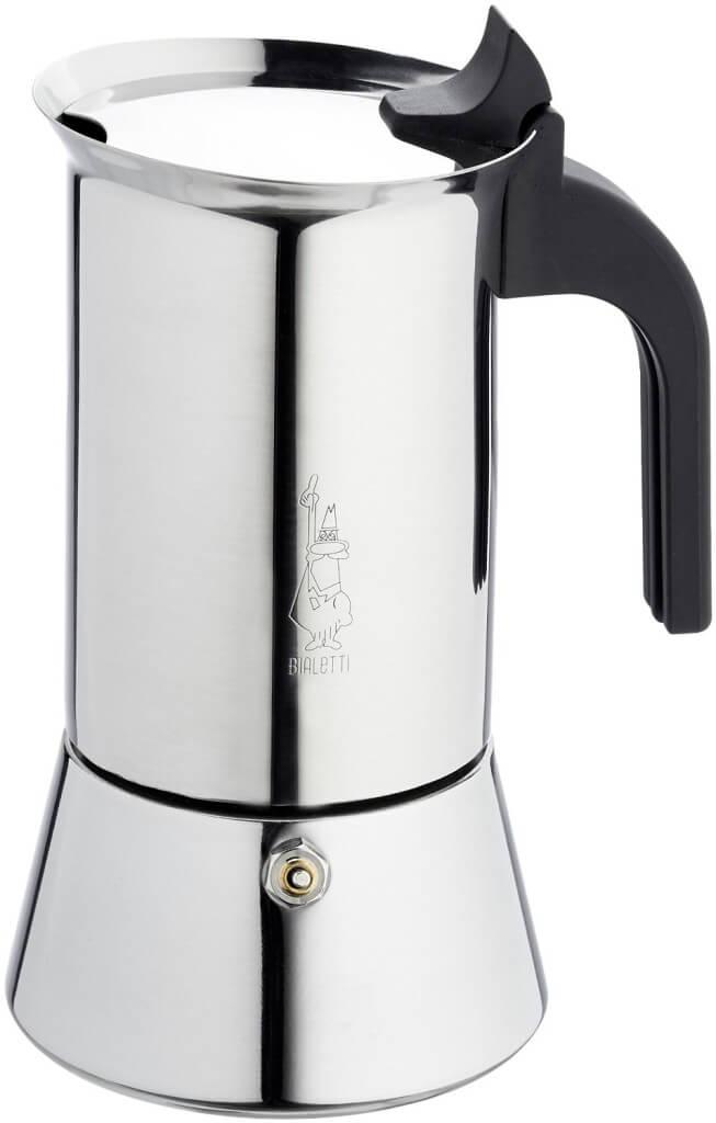 Verwendung Espressokocher Edelstahl