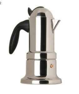 VEV Vigano Nouva Kontessa Espressokocher Edelstahl