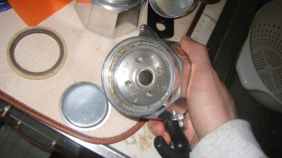 espressokocher reinigen3