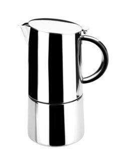 Espressokocher Edelstahl Lacor 62056